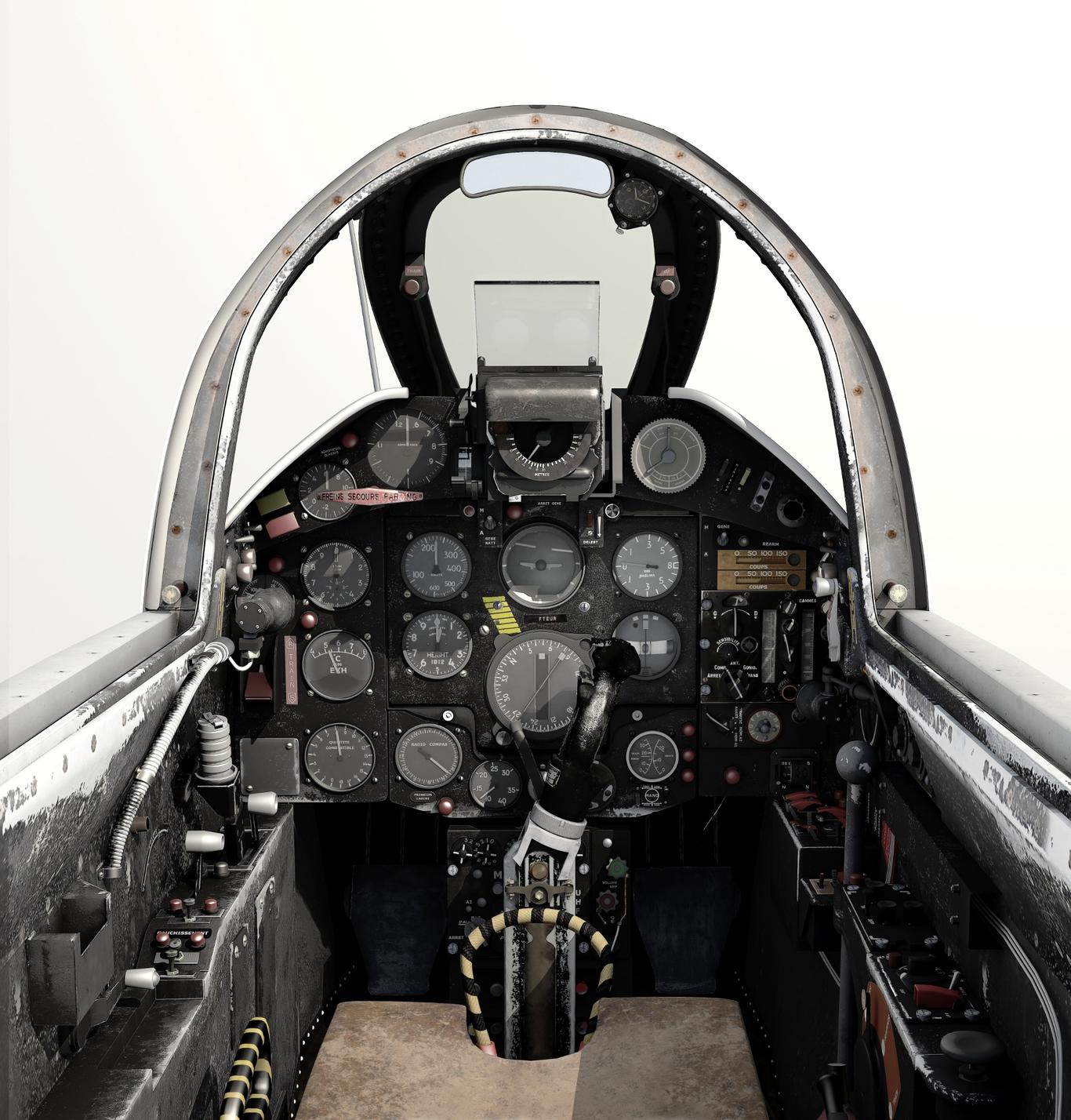 Amateur mystere iv cockpit 1 7c2db2cb ttue