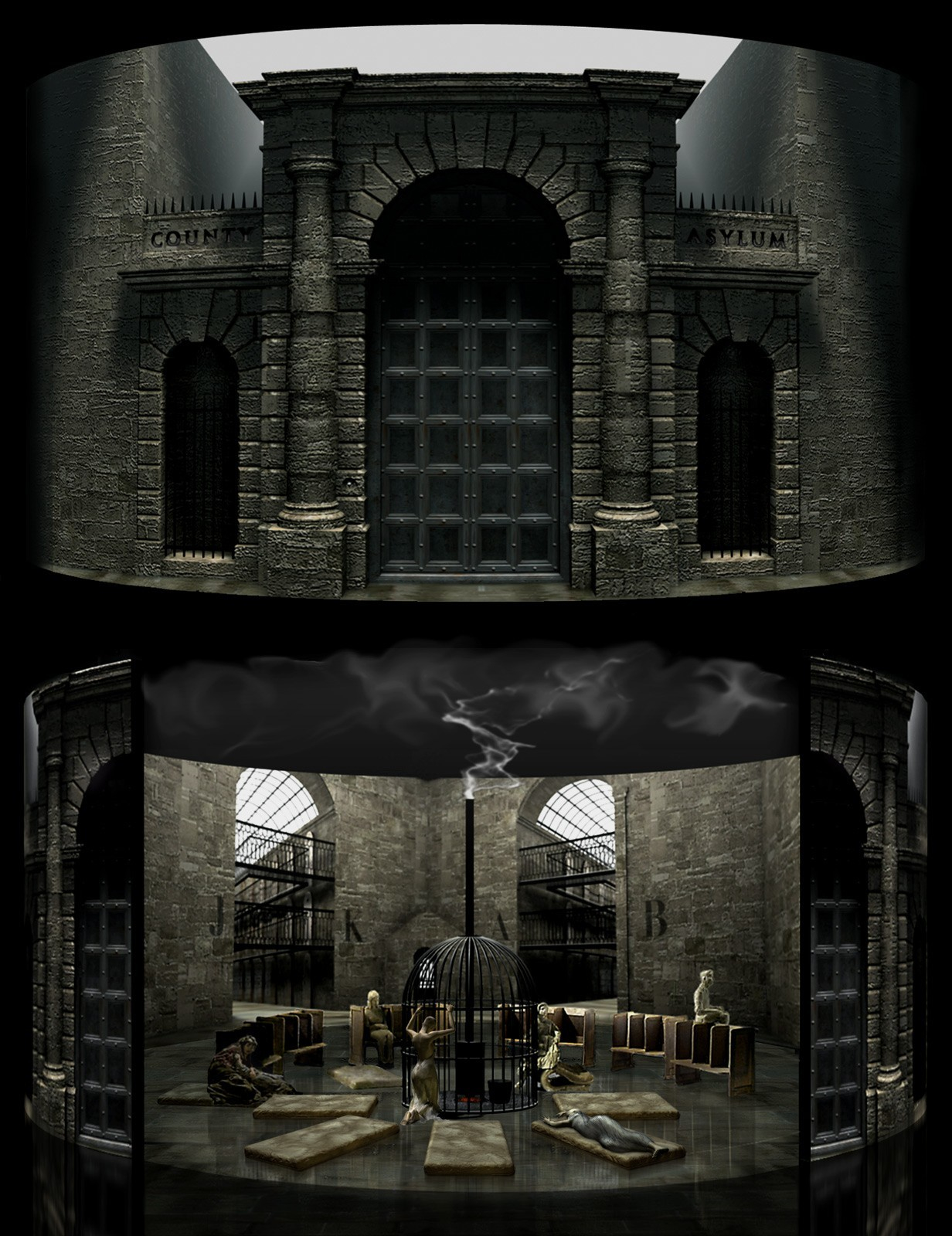 Bill d the lunatic asylum 1 34089407 ki0u