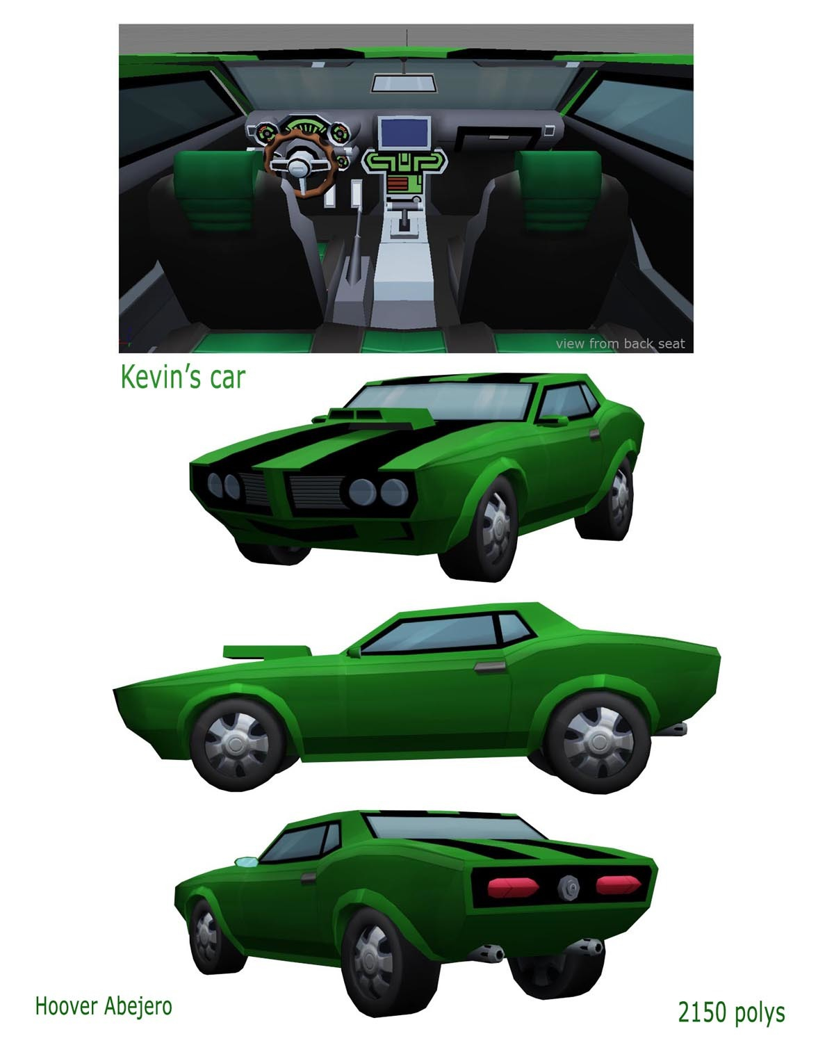 Kevin's Car - Ben 10 By Bolo303