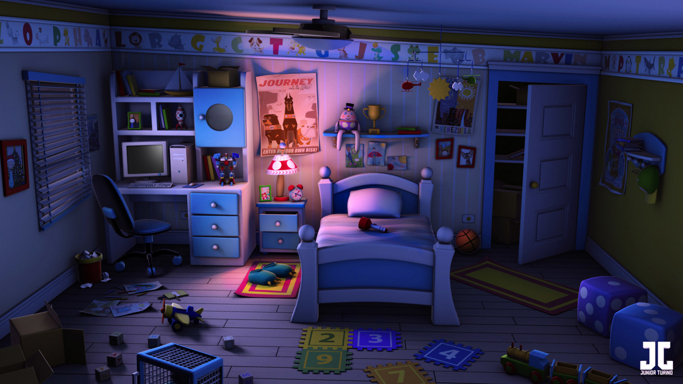 Monsters Inc Room Colors