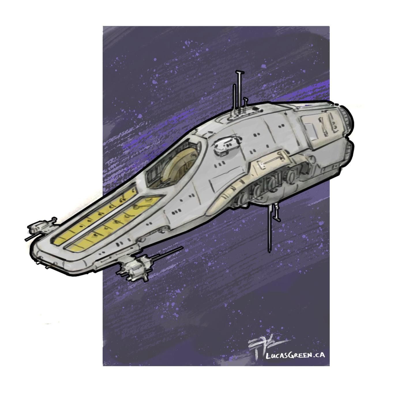 Lucasgreen spaceship sketch 1 7fe99d2f kpyz