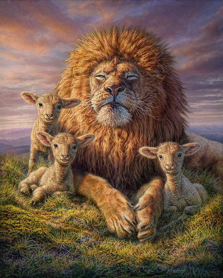 Philjaeger lion and lambs 1 cf6f838c 71lz