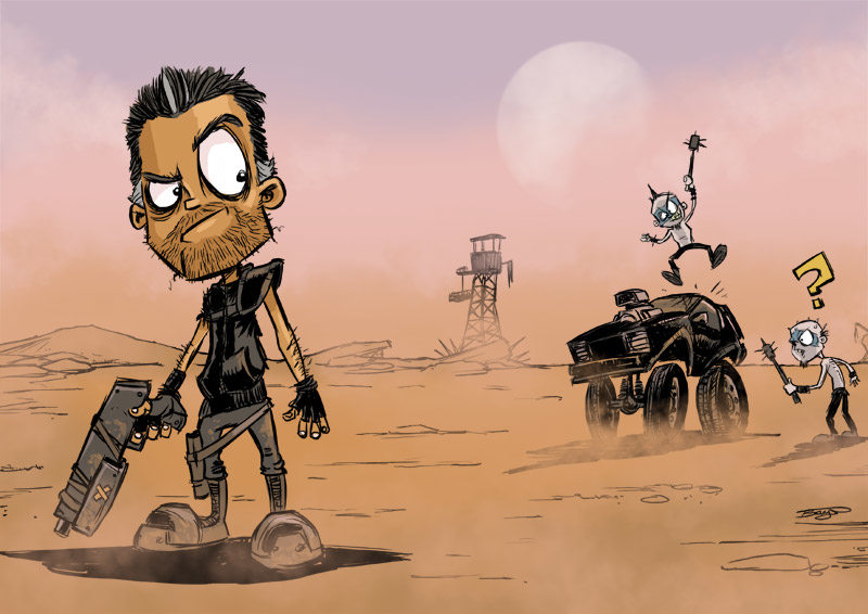 Redfrog daily sketch mad max 1 5396b194 32d3