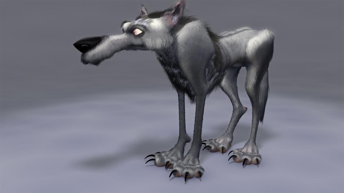 Rezaghobady cartoon wolf with ha 1 d0178986 8r24