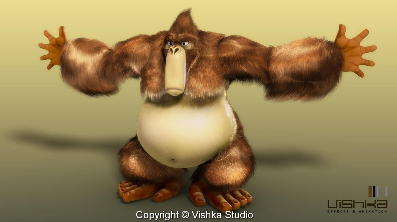 Rezaghobady hairy gorilla 1 855ba016 f6dt