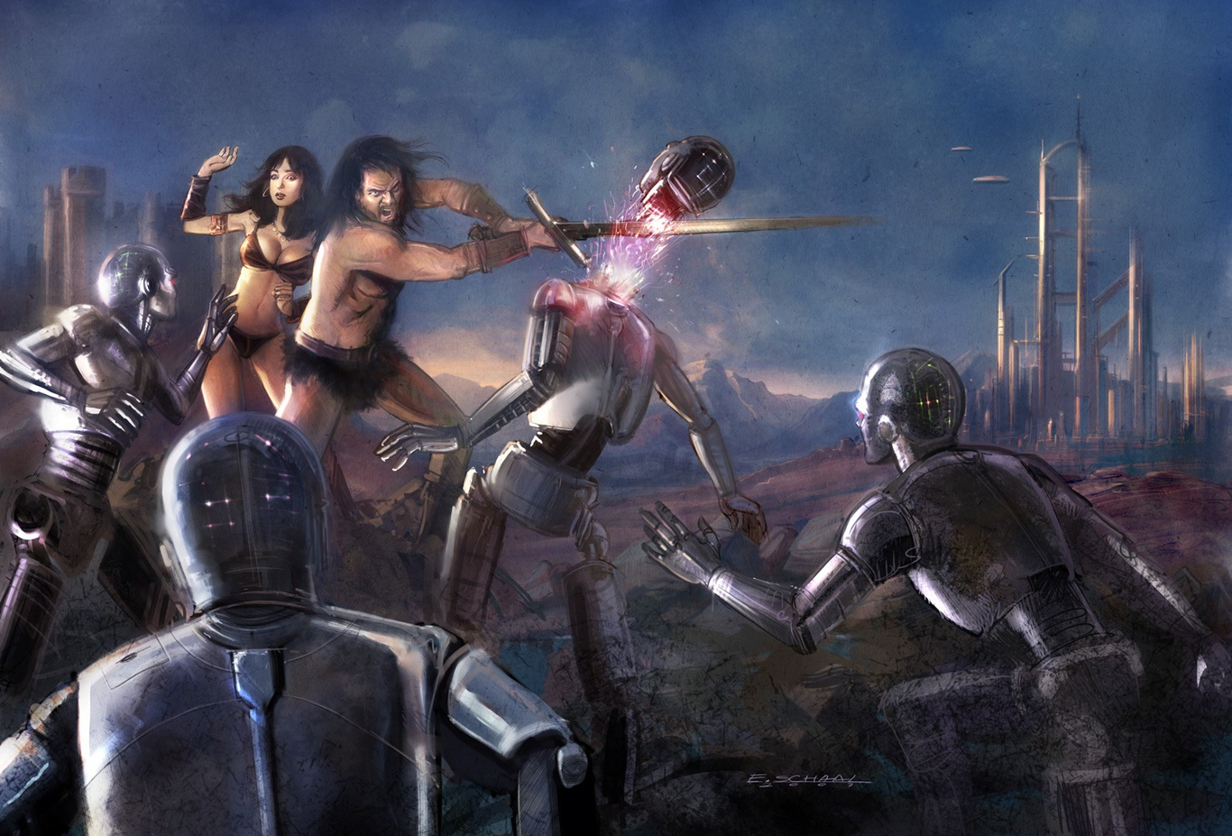 Schaal the final battle of  1 6a268613 oa2g
