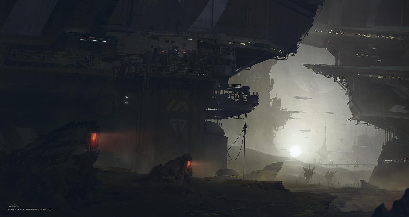 A Martian Colony