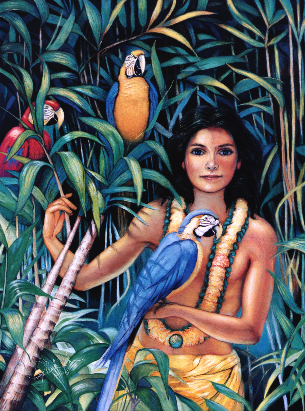 Vedanta boy and parrots 1 ead551c5 xq67