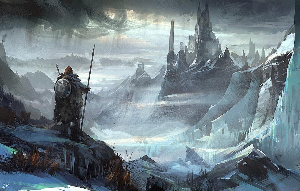 Zhoupengart frozen city 1 f39af673 fw83